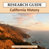 Research Guide: California History