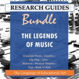 Research Guide: The Legends of Music Bundle