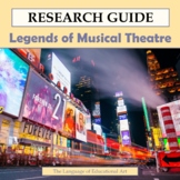 Research Guide: The Legends of Musical Theatre
