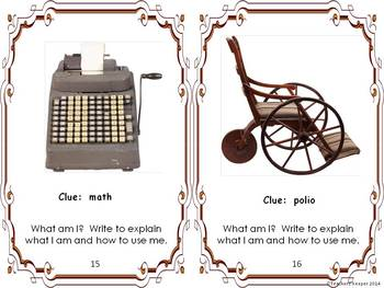 Research, History, Writing and Antiques: Writing Prompts and Research Ideas