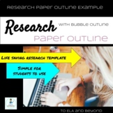 Research Informational Paper Writing Template Outline