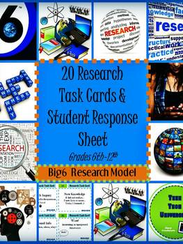 Ready to Research Task Cards