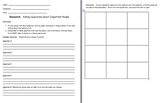 Research Introduction Lesson-Brainstorming and Writing Questions