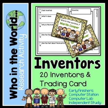 Research Project - Inventors