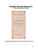 Research - Is the temperature changing where you live - A Research Activity
