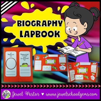 Biography Project Lapbook