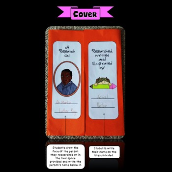 Biography Project Lapbook (Biography Activities)