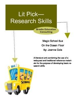 Research Lit Picks: Magic School Bus On the Ocean Floor