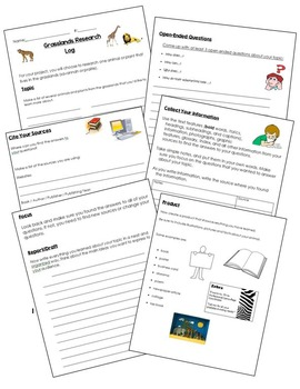 Research Logs - Gifted and Talented Projects -7 Units