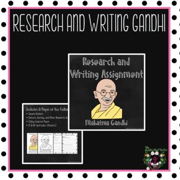 Research: Mahatma Gandhi