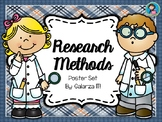 Research Methods Poster Set