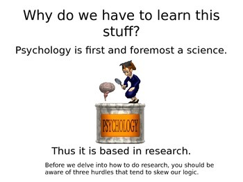 AP Psychology Research Methods Powerpoint