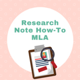 Research Note How-To MLA (Handout)