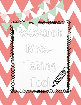 Research Note Taking Tool