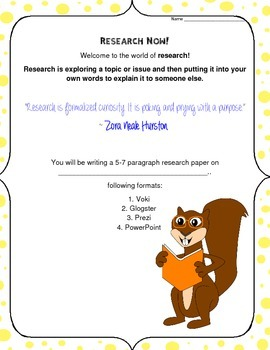 Research Now!