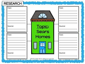 Research & Opinion Writing Project: Which Sears Home is best for your family?