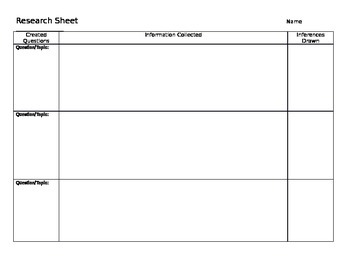 Research Organizer 2