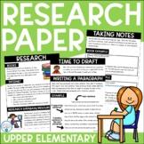 Research Paper-- Complete Unit for Intermediate Grades