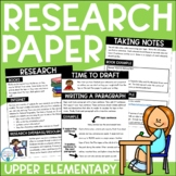 Research Paper | Complete Unit for Upper Elementary