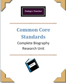 Complete Biography Research Unit