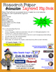 RESEARCH PAPER WRITING EDITABLE FLIP BOOK FOR MIDDLE SCHOOL AND HIGH SCHOOL