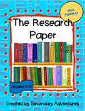 Writing A Research Paper- MLA 8th Edition