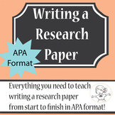 Research Paper Complete Unit - APA Style 7th Edition