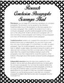 Research Paper Conclusion Paragraph Writing Scavenger Hunt