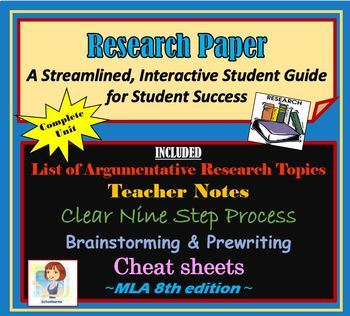 Research Paper Consumable Workbook