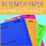 Research Paper | Distance Learning & EDITABLE