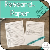 Research Paper Graphic Organizer