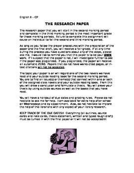 Helpful Research Paper Assignment Guideline