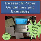 Research Paper Guidelines and Exercises
