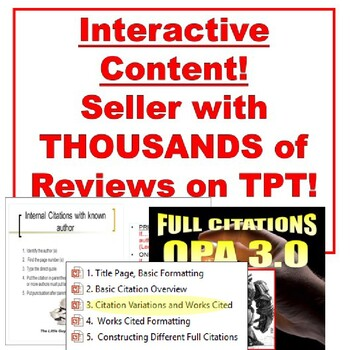 Research Paper Lesson : MLA Format PowerPoint