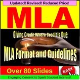 MLA Formatting and Citations PowerPoint Lessons