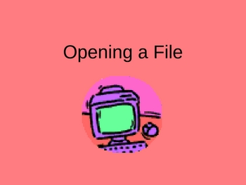 Research Paper: Opening A File
