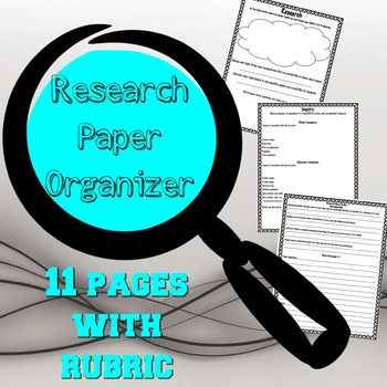 Research Paper Organizer