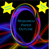 Research Paper Outline For Upper Elementary and Middle School Students