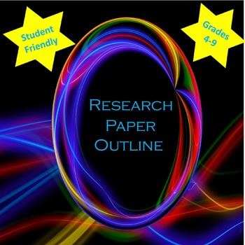 Research Paper Outline For Upper Elementary and Middle Sch