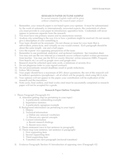 Research Paper Outline Template