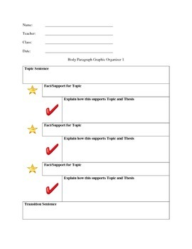 Research Paper Outline and Graphic Organizers