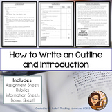 Paper Outline and Introduction MLA OR APA