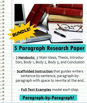 Research Paper Pack - Paragraph by Paragraph