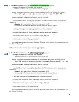 Research Paper- Peer Editing Workshop Guidelines