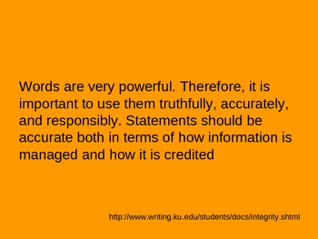 Research Paper: Plagiarizing