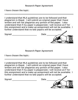 Research Paper Pledge