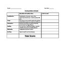 Research Paper Rubric for Final Copy