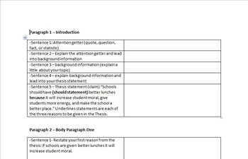 Research Paper Template and Rubric