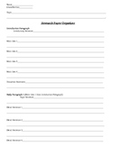 Research Paper Template/Graphic Organizer