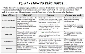 5 Research Paper Tips